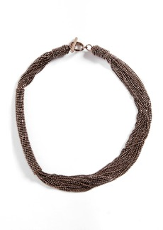 Brunello Cucinelli Monili Multistrand Necklace