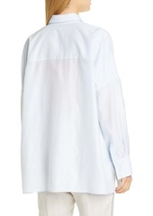 Brunello Cucinelli Monili Pocket Voile Shirt