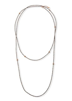 Brunello Cucinelli Monili Wrap Necklace
