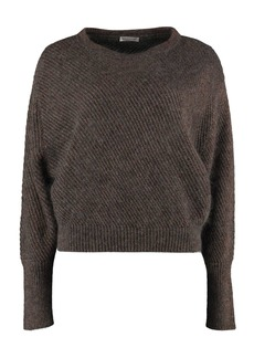 Brunello Cucinelli Open-work Sweater