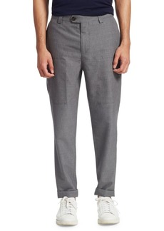 Brunello Cucinelli Para Cotton Wool Trousers