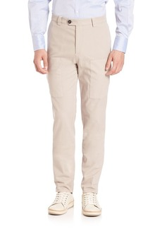 Brunello Cucinelli Para New Cargo Pocket Pants