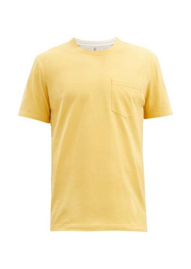 Brunello Cucinelli Patch-pocket cotton-jersey T-shirt