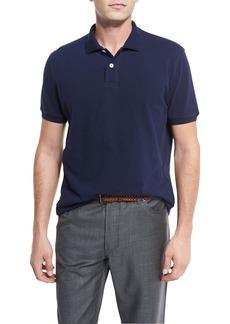 Brunello Cucinelli Pique Polo Shirt