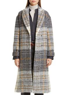 Brunello Cucinelli Plaid Trench Coat