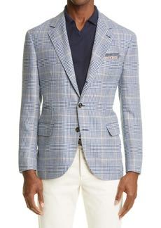 Brunello Cucinelli Prince of Wales Sport Coat