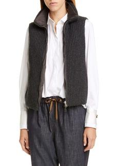 Brunello Cucinelli Reversible Cashmere Vest