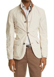 Brunello Cucinelli Reversible Leather Coat