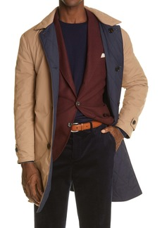 Brunello Cucinelli Reversible Quilted Coat