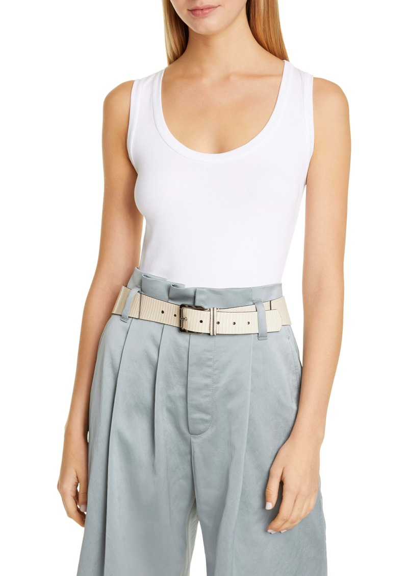 Brunello Cucinelli Scoop Neck Tank