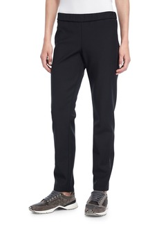 Brunello Cucinelli Scuba Knit Track Pants