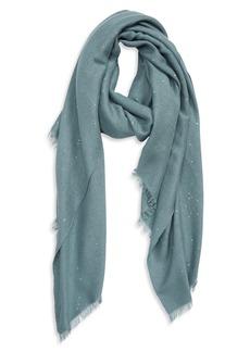 Brunello Cucinelli Sequin Cashmere & Silk Scarf
