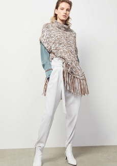 Brunello Cucinelli Sequin Poncho Sweater