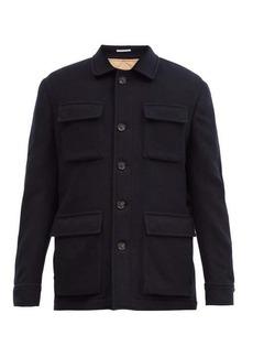 Brunello Cucinelli Single-breasted cashmere coat