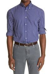 Brunello Cucinelli Slim Fit Check Button-Down Shirt
