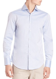 Brunello Cucinelli Slim-Fit Cotton Button-Down Shirt