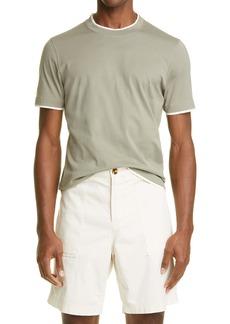 Brunello Cucinelli Slim Fit Cotton T-Shirt