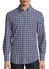 Brunello Cucinelli Slim-Fit Plaid Shirt