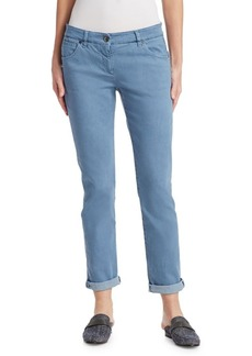 Brunello Cucinelli Slim Five-Pocket Jeans