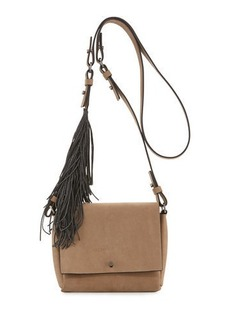 Brunello Cucinelli Small Flap Fringe Crossbody Bag
