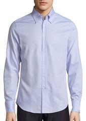Brunello Cucinelli Soft Hue Cotton Sportshirt
