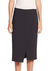 Brunello Cucinelli Solid Surplice Skirt