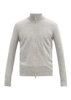 Brunello Cucinelli Stand-neck cashmere track top