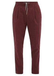 Brunello Cucinelli Stretch cotton-blend chino trousers
