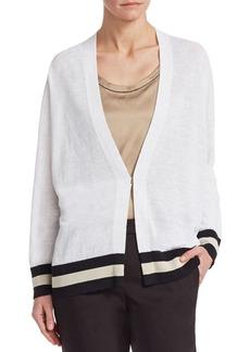 Brunello Cucinelli Striped Cotton Cardigan