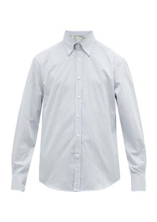 Brunello Cucinelli Striped cotton-twill oxford shirt