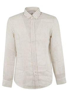 Brunello Cucinelli Striped Pattern Shirt