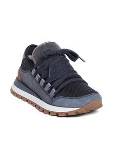 Brunello Cucinelli Suede Sneaker (Women)