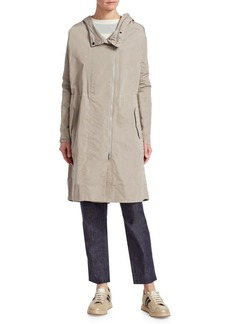 Brunello Cucinelli Taffeta Trench Coat