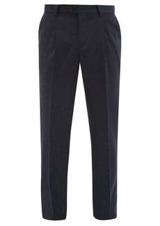 Brunello Cucinelli Tailored virgin wool-twill trousers
