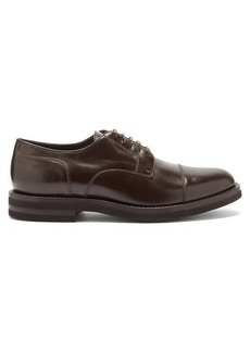 Brunello Cucinelli Toe-cap leather derby shoes