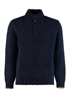 Brunello Cucinelli Turtleneck Wool Pullover