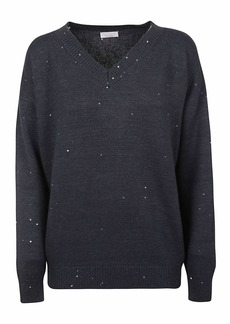 Brunello Cucinelli V-neck Sweater