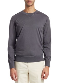 Brunello Cucinelli Washed Crewneck Sweatshirt