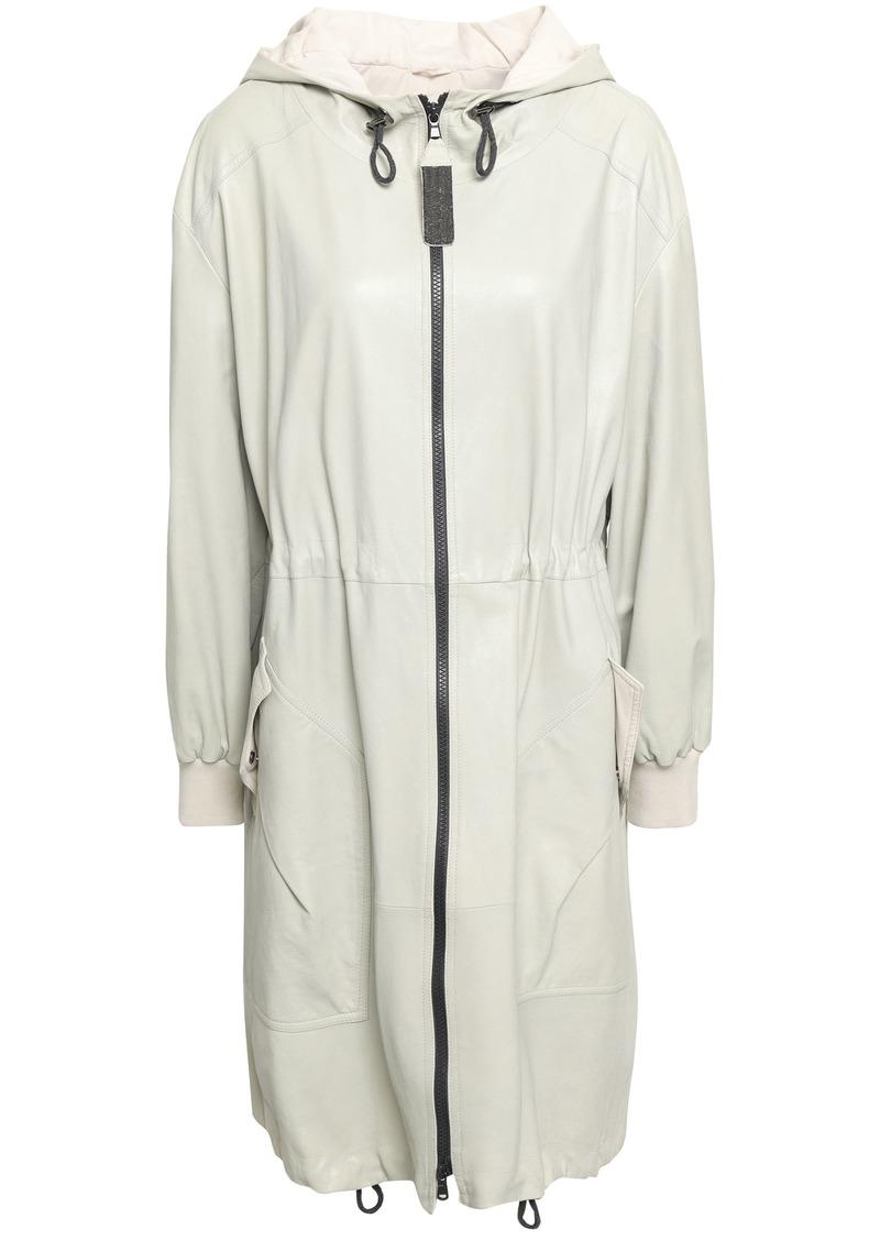 Brunello Cucinelli Woman Casual Jackets Light Gray