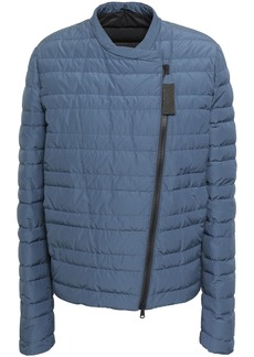 Brunello Cucinelli Woman Quilted Shell Down Jacket Storm Blue