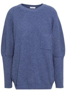 Brunello Cucinelli Woman Ribbed Cashmere Sweater Indigo
