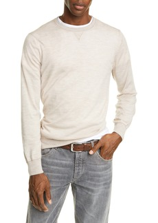 Brunello Cucinelli Wool & Cashmere Crewneck Sweater