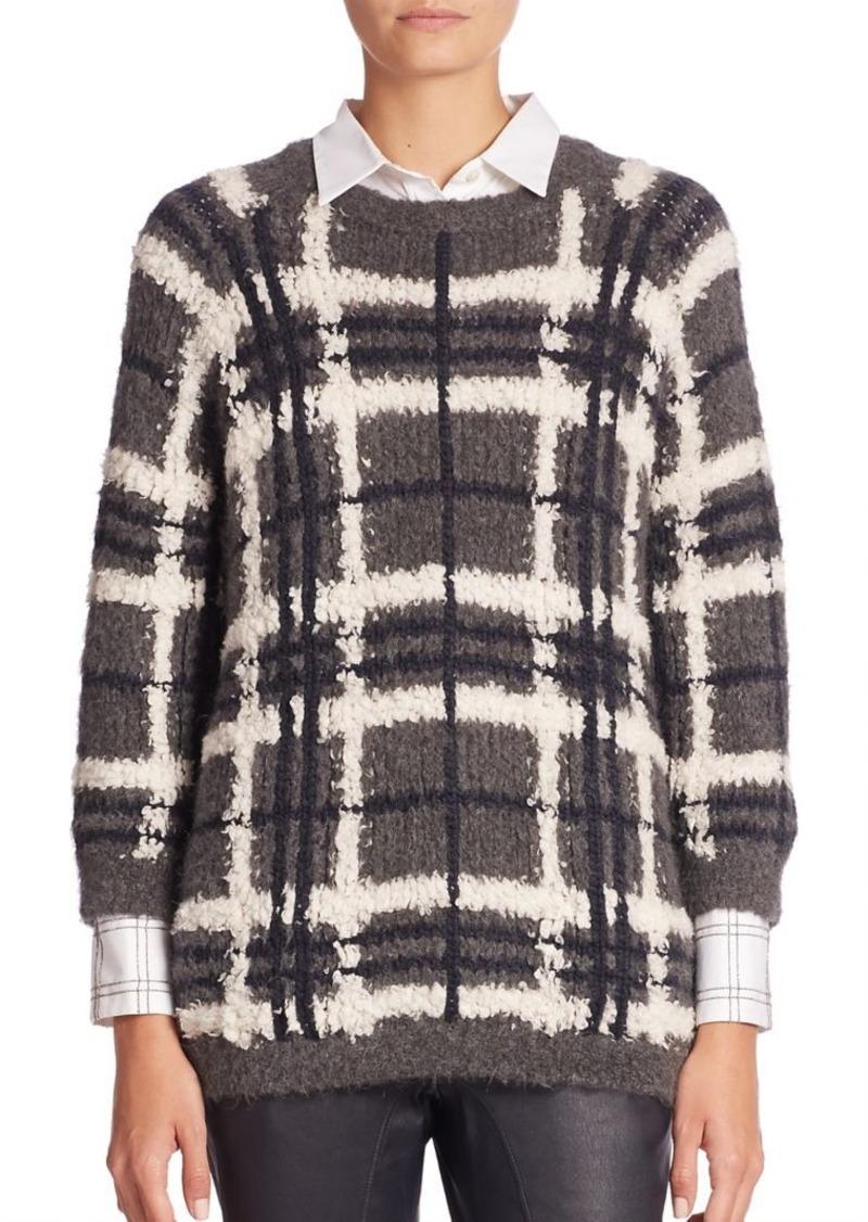 Brunello Cucinelli Woolen Plaid Sweater