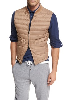 Brunello Cucinelli Zip-Front Fitted Vest