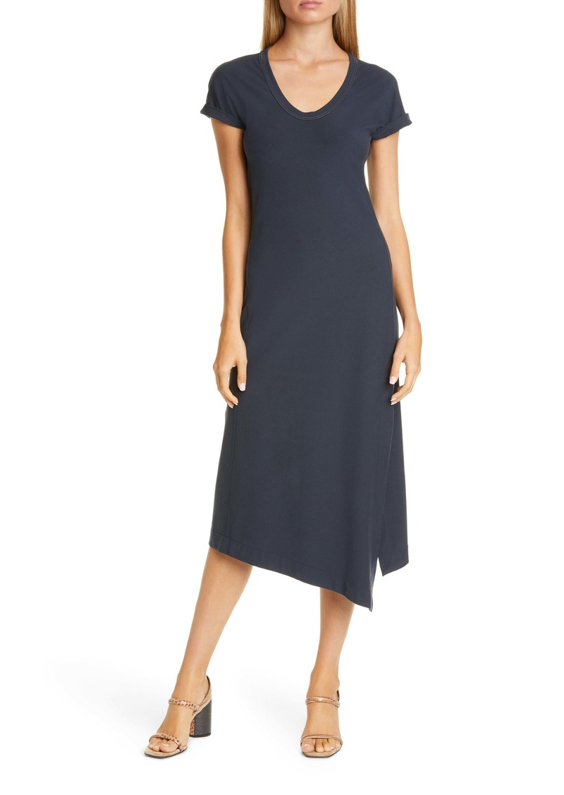 Brunello Cucinelli Brunello Cucinello Asymmetrical Jersey Midi Dress
