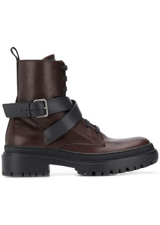 Brunello Cucinelli buckled ankle boots