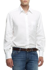 Brunello Cucinelli Button-Down Shirt  White