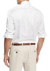 Brunello Cucinelli Button-Down Slim-Spread Collar Shirt