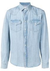 Brunello Cucinelli buttoned denim shirt