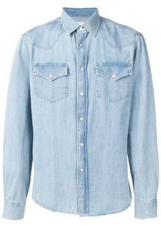 Brunello Cucinelli buttoned denim shirt